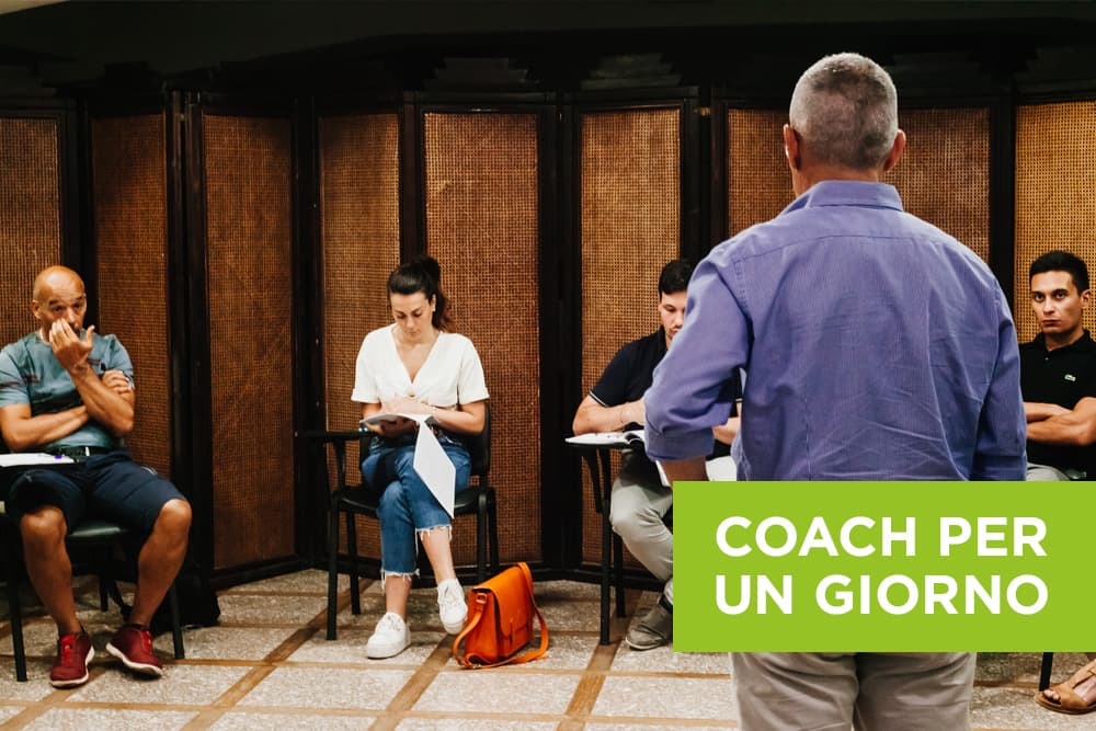 Coach per un giorno - Corso di Coaching