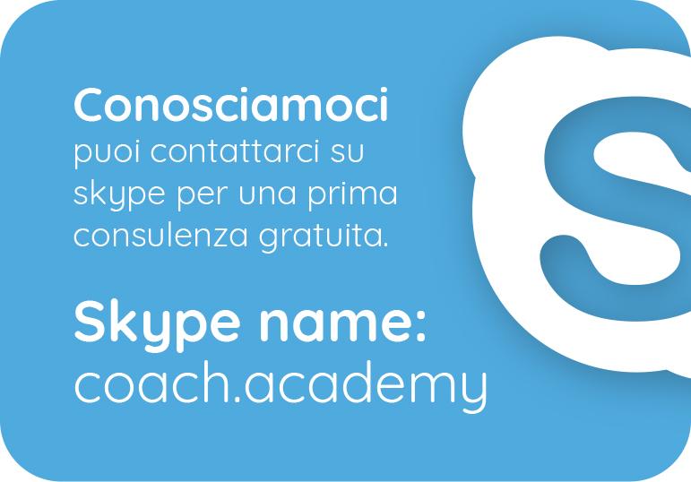 Contatto Skype Coach Academy
